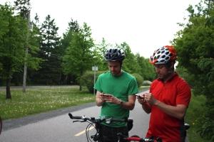 David Boudreault et Olivier Carbonneau, fondateurs de CycleMap